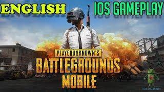 PUBG MOBILE ( ENGLISH ) - iOS GAMEPLAY