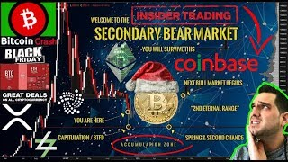 When Will This Bear Market End?!? 😱 Coinbase $BCH Insider Trading?!? $BTC Target Price = $3k?!?