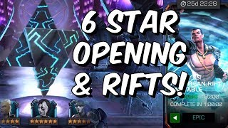 6 Star Crystal Opening & Epic + Master Unstable Atlantean Rifts! - Marvel Contest of Champions
