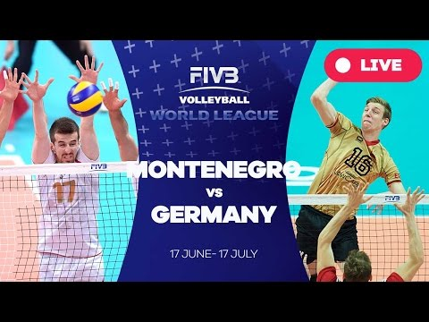 Montenegro v Germany - Group 3: 2016 FIVB Volleyball World League