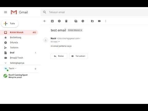 Cara Kirim Email Codeigniter