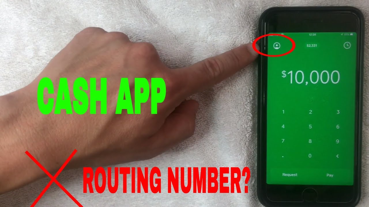 ✓ Where Is Cash App Routing Number? 🔴 - YouTube