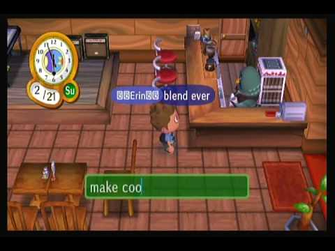 Animal Crossing City Folk-Best Coffee Ever!!!!