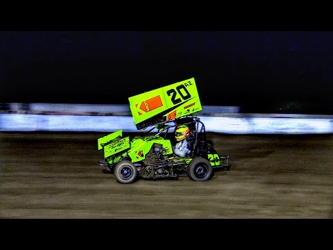 Mini Sprint Main At Canyon Speedway Park October 22nd 2016