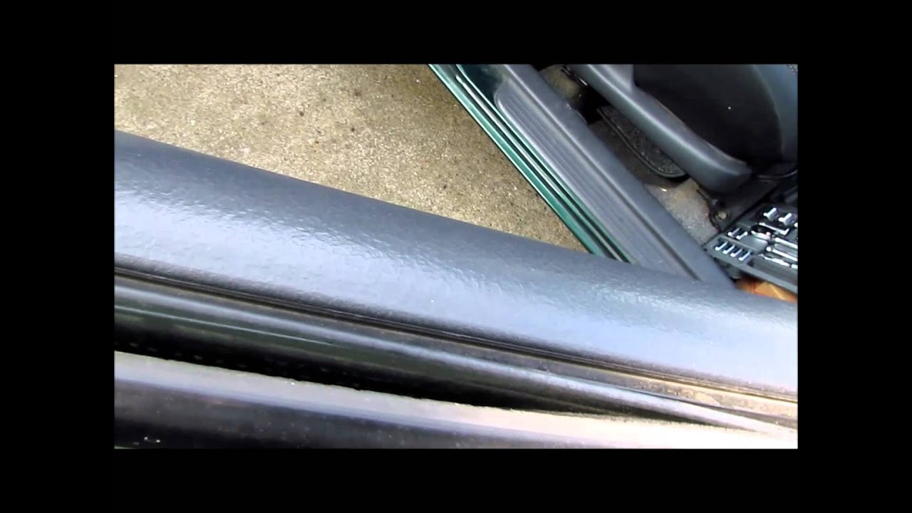 Toyota Echo Window Weather Stripping Diy Replacement Youtube