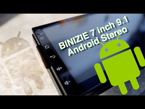 Binizie 7inch 9.1 Android Stereo Full Review