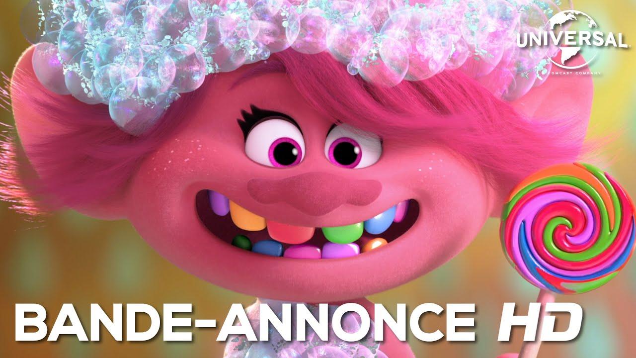 Les Trolls 2 - Bande-Annonce Officielle VOST [Au cinéma le 1er avril]