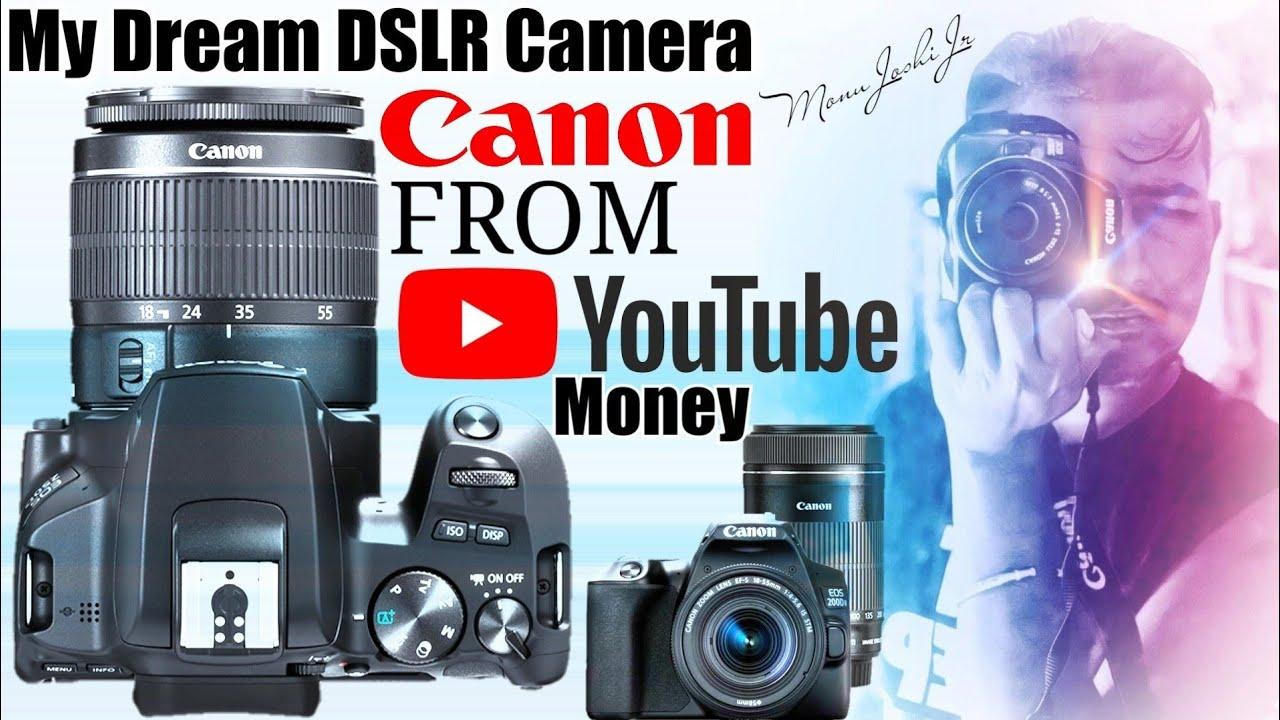 Monu Joshi Jr DSLR Camera From YouTube Money | Canon 200 D Mark 2 | First Camera Of Monu Joshi Jr