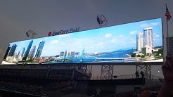 Jacksonville Jaguars New Largest Scoreboards at Everbank Field