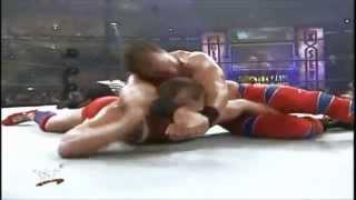 Chirs Benoit vs Kurt Angle Wrestlemania 17 Highlights