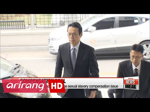 Korea, Japan to discuss wartime sexual slavery compensation issue