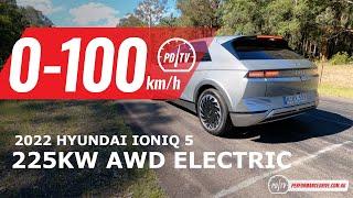 2022 Hyundai IONIQ 5 AWD 0-100km/h \u0026 overview