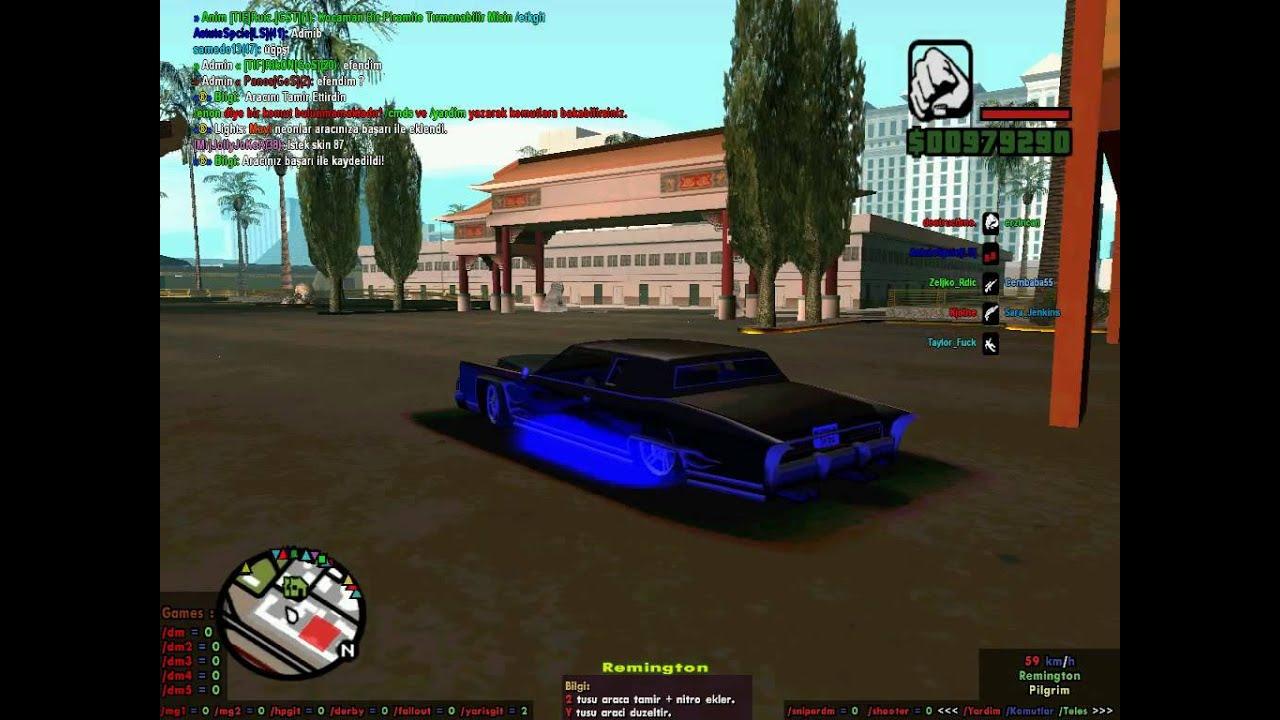 Samp de arabada diğer oyuncular nasıl atılır