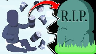 This New BitLife Game Keeps Killing Me 💀 (IMAGINE LIFETIMES)