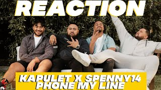 KAPULET X SPENNY 14: PHONE MY LINE || The Uso Table Talk REACTIONS