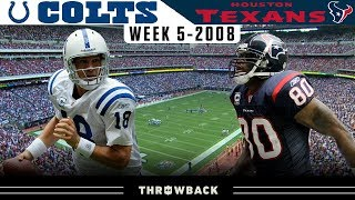 The MOST Underrated Comeback! (Colts vs.Texans 2008, Week 5)