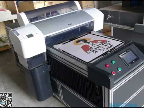 China best cheap t shirt inkjet printing machine for sale for Machine for printing on t shirts
