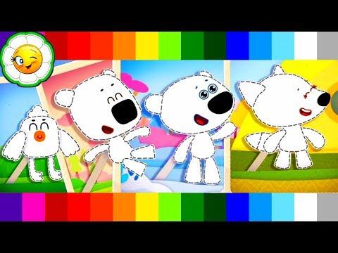 Ми-ми-мишки: Мультизнайка #1 Мини-игра: нарисуй Кешу, Тучку, Лисичку и Цыпу!