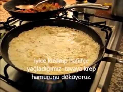 Krep pişirmek nasıl