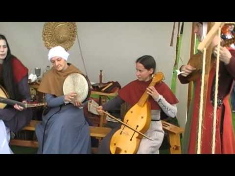 MEDIEVAL MUSIC IN THE BRUCE FESTIVAL .DUNFERMLINE, SCOTLAND. McD'AGO