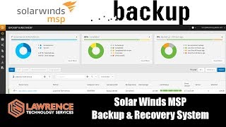 Solar Winds MSP: Backup & Recover System Review