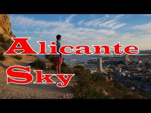 アリカンテ スカイ サンタバーバラ城 / Alicante Sky Castell de la Santa Bàrbara