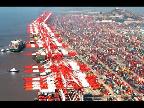 China's Ultimate Port - Biggest Construction on Earth | Mega