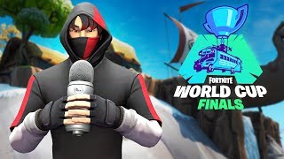 Biggest Bot in OCE Commentates FORTNITE WORLD CUP FINALS WEEK 9!