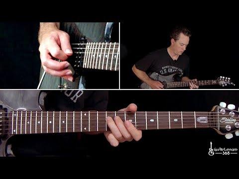 Tornado of Souls Guitar Solo Lesson - Megadeth