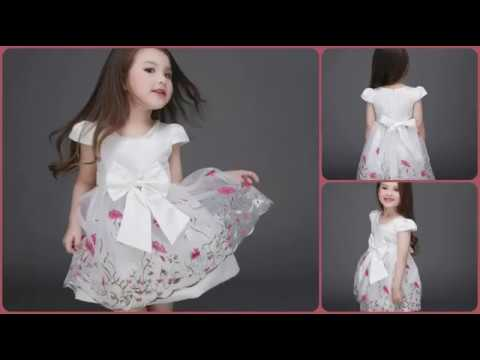 Kids and Baby Summer Dresses Collection 2017 | Flower Girls Dresses, Party Gowns