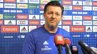 Nach Sandhausen-Sieg: HSV-Trainer Titz schon im Bayern-Fieber!