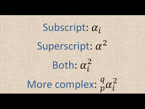 Smartest Way To Type Equation In Equation Editor In Word (similar To LaTeX): Superscript & Subscript