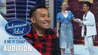 Girang Karena Kehadiran Lyodra - Enrico Subrata - Audition 2 - Indonesian Idol 2021