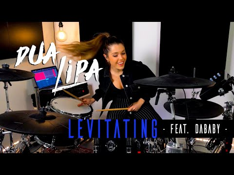 Dua Lipa - Levitating (Feat. DaBaby) | DRUM COVER Domino Santantonio