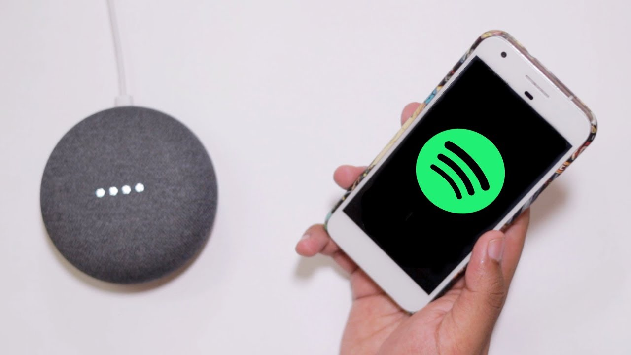 How to LINK Spotify with Google Home in India