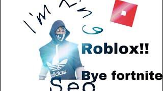 Fortnite| The new trash update!! I'm go play roblox 😂jk