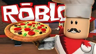 ROBLOX-Working in a pizzeria! 🍕