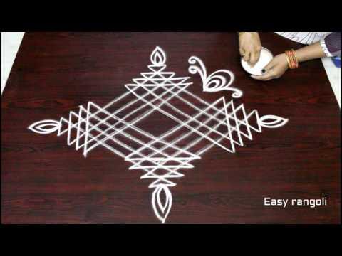 sankranthi dhanurmasam muggulu designs || pongal kolam designs|| easy rangoli designs || rangoli art