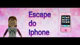 Roblox- escape do iphone