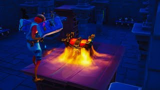 So fortnite added new legendary chest in season 8 (New secret chest location)