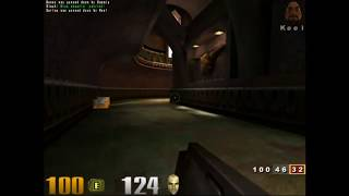 Quake III: Arena gameplay - Free For All - Q3DM7 - Nightmare!