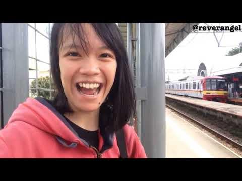 Perdana Bikin Trip Report KRL!! Naik KRL Commuterline Ke Bekasi