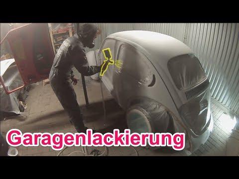 Komplettlackierung In Der Garage - TOP!