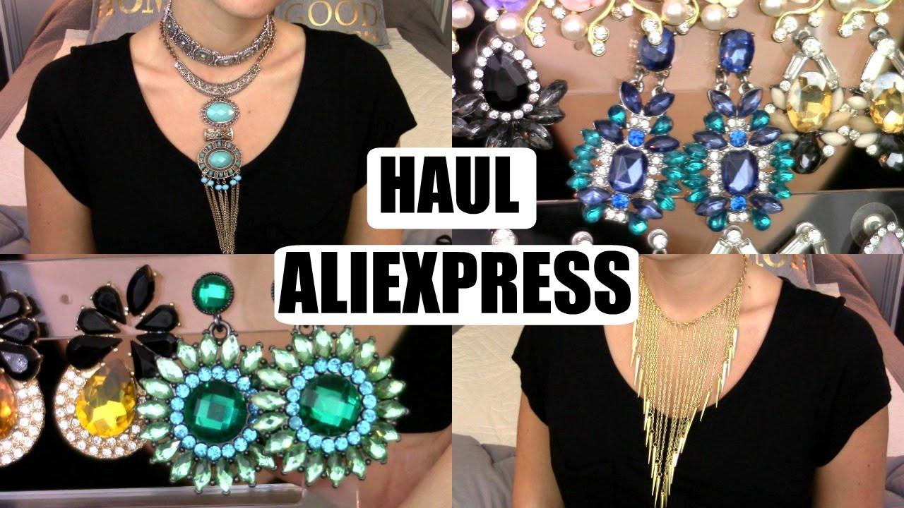HAUL ALIEXPRESS ❤ JUIN 2016