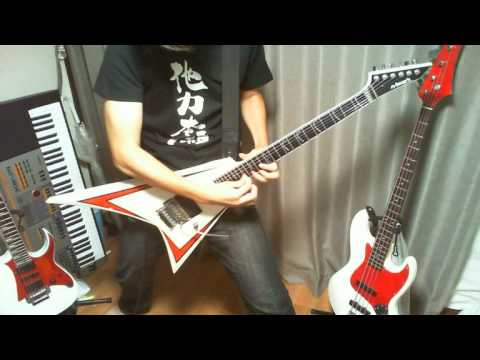 【Dragonforce】 The Game  Guitar Cover