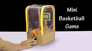 How To Make Mini DIY Basketball Game for Kids