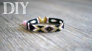 DIY (Tutoriel) d'un bracelet en perles Miyuki à partir d'un métier à tisser