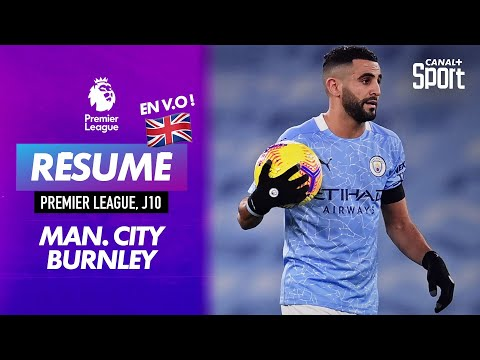 Le résumé de Manchester City - Burnley en VO
