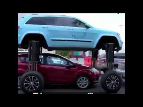 This car mean you'll never get stuck in traffic again