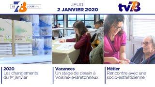 78 Le Journal – Edition du jeudi 2 janvier 2020